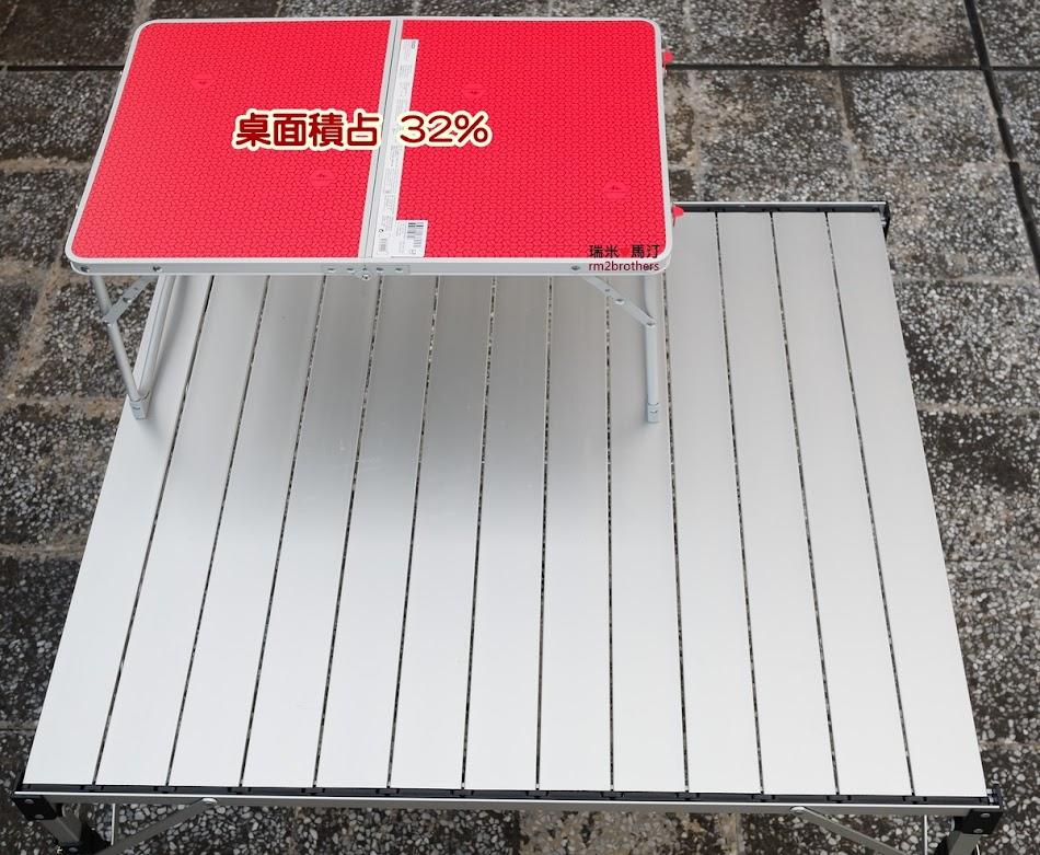 迪卡儂 QUECHUA 矮腳露營摺疊桌