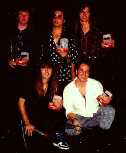 w/ my band Dead Serios - 1991