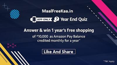 1 Year's Free Shopping