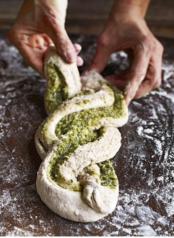 Cheesy sage and garlic bread