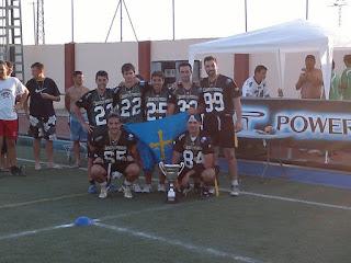 FLAG FOOTBALL (Spanish Flag Bowl 2011) - Gijón Mariners los mejores de España tras un duelo de infarto con Atlantic Devils