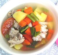 Rahasia Membuat Sup Sayur Yang Enak dan Lezat