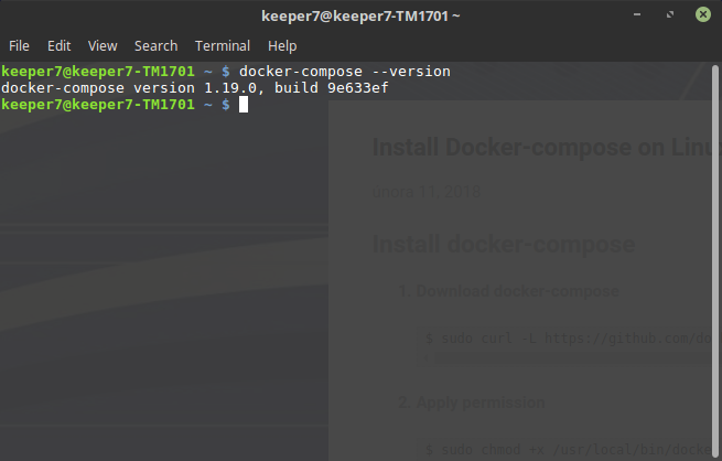 apt-get install docker-compose debian