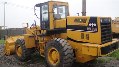 Shop Manual Komantsu Wheel Loader WA350-1