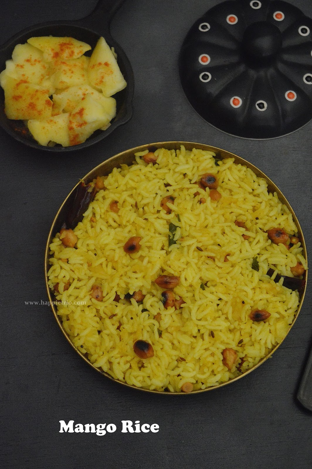 Mango Rice Recipe | How to prepare Raw Mango Rice