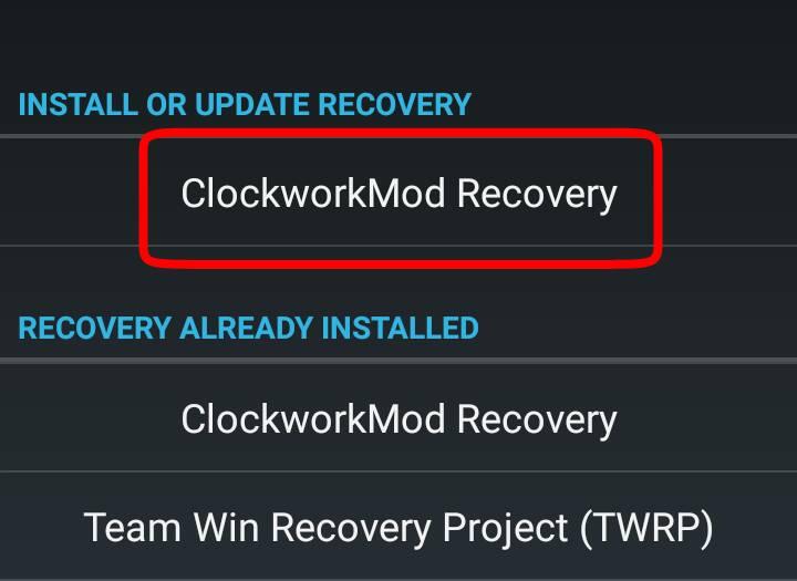 Android phone में custom recovery कैसे install करे
