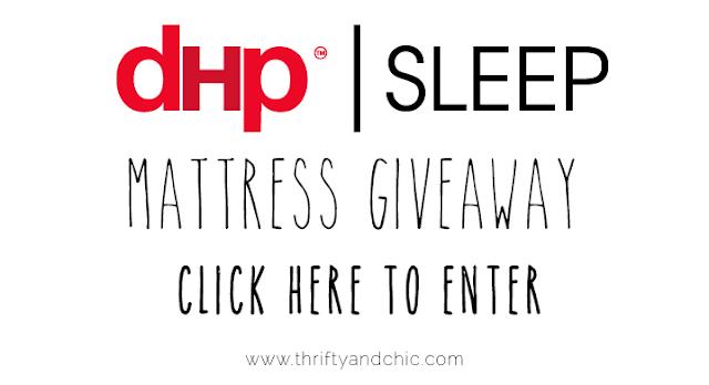 DHP Sleep Mattress Giveaway! click to enter