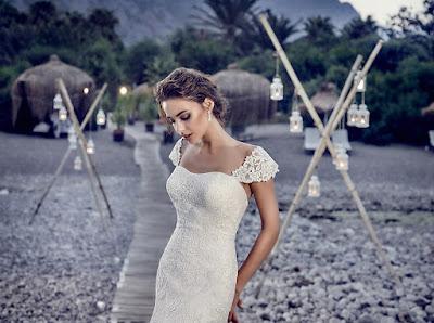 vestidos de novia para boda en la playa
