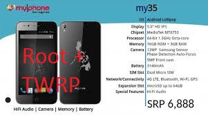 Myphone My35 Root and Recovery