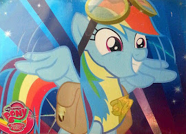 MLP Rainbow Dash Series 3 Trading Card