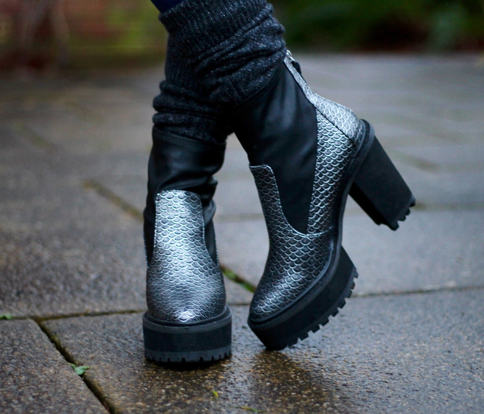 Chunky boots | Fake Fabulous