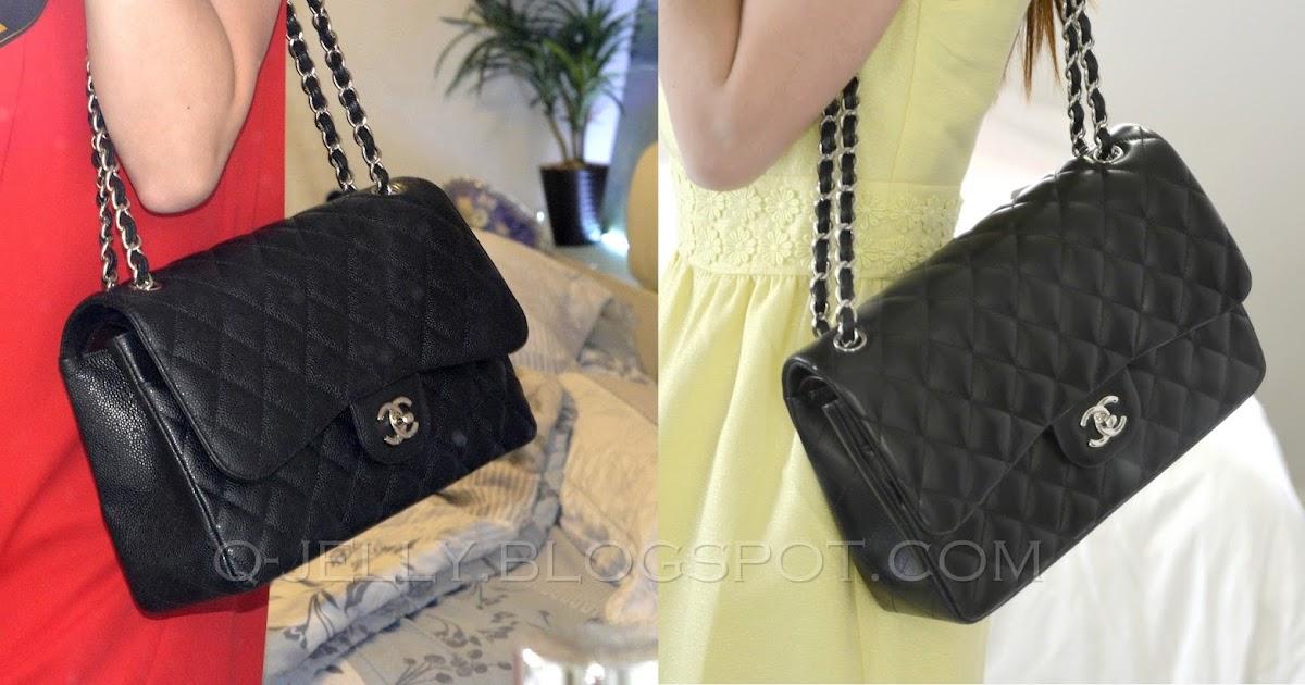 0282f70ca4f8 Chanel Classic Flap Bag Lambskin Vs Caviar | Stanford Center for ...