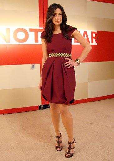 Stacy London na época em que apresentava What Not to Wear