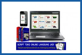 Script Toko Online Langsung Jadi