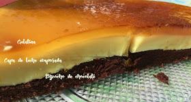 Tarta-de-gelatina-de-limón-bizcocho-chocolate