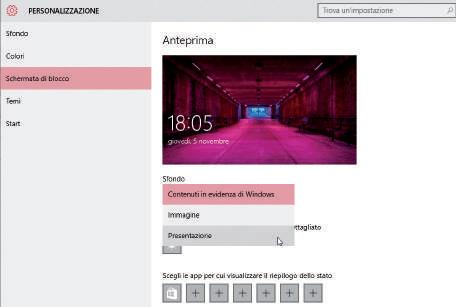 Come personalizzare la schermata di blocco