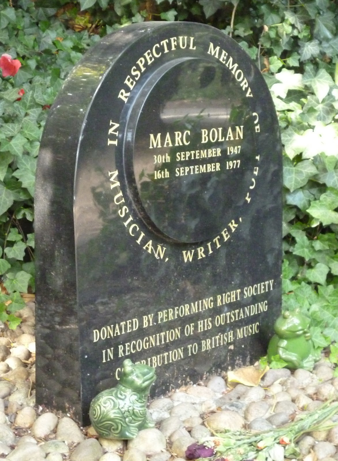 Dr Tony Shaw: The Marc Bolan Shrine, Barnes: London #14