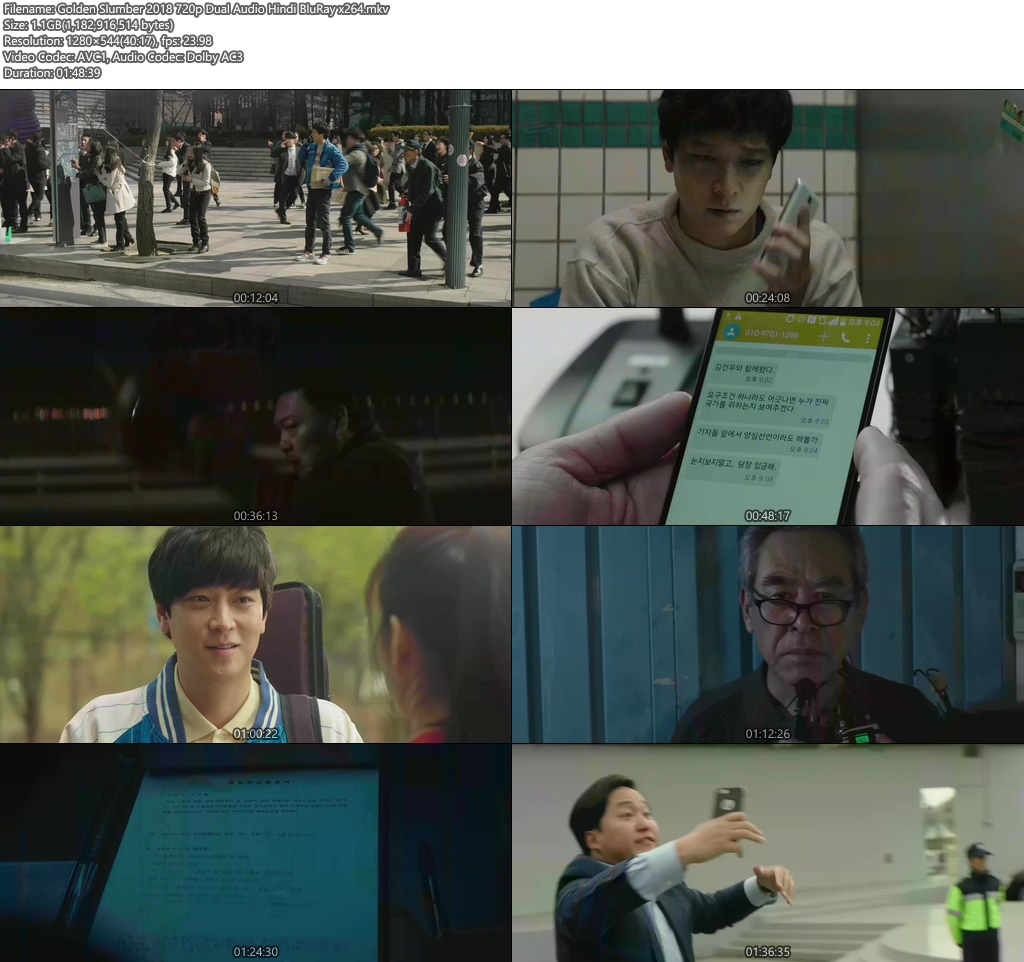 Golden Slumber 2018 720p Dual Audio Hindi BluRay x264 | 480p 300MB | 100MB HEVC Screenshot
