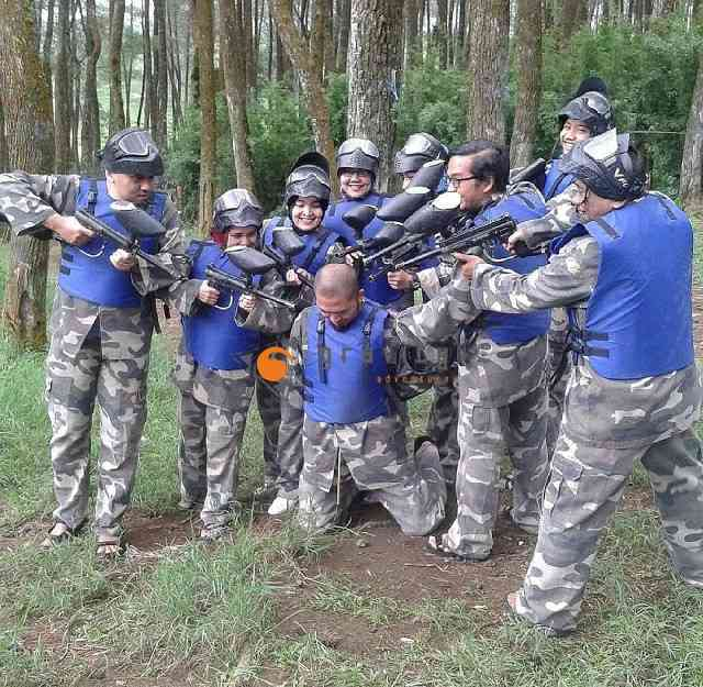Main Paintball di Bandung Venue Gravity Adventure