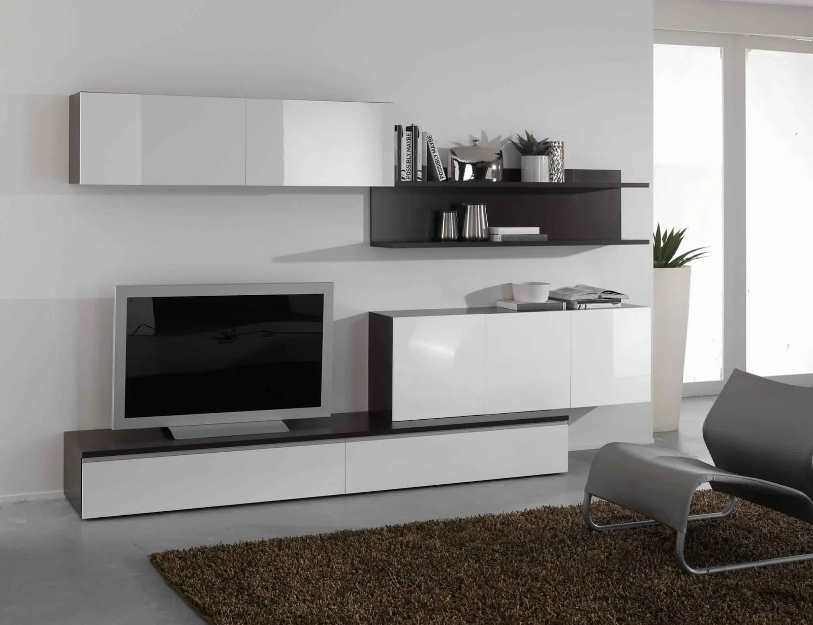 Composition Murale Meuble Tv Mur Tv Design Finest Mur Tv Design Laqu Blanc Dcor Chrom With Mur