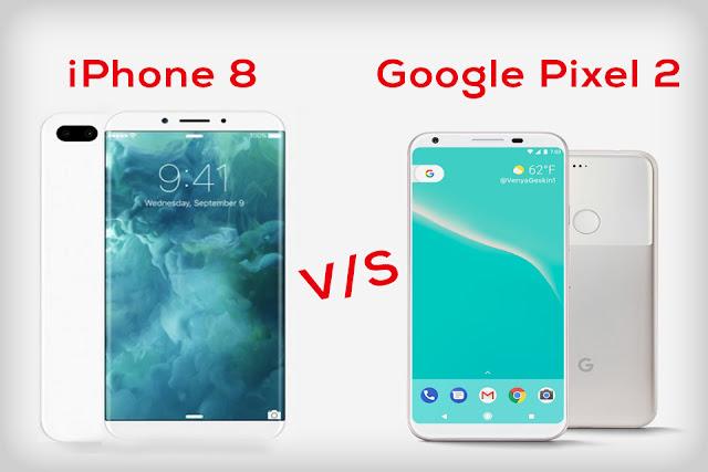 Google Pixel 2 Vs Iphone 8 review