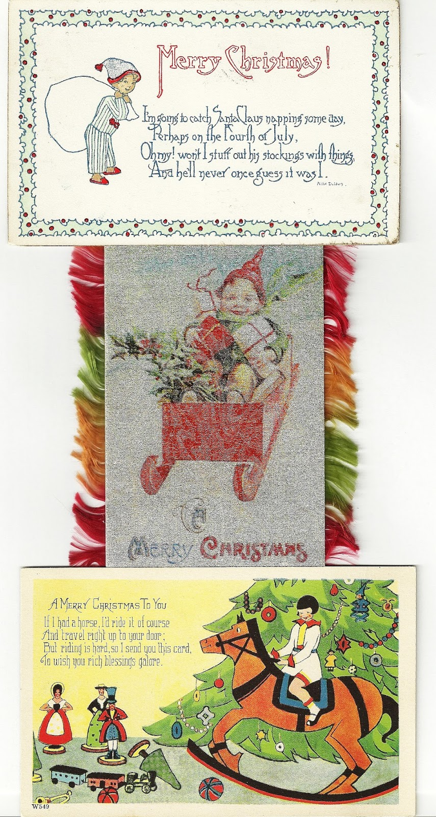 unraveling threads the history of the christmas greeting card