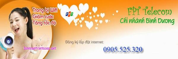 Lắp đặt internet fpt phường Uyên Hưng