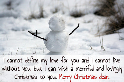 Christmas greetings for girlfriend/boyfriend