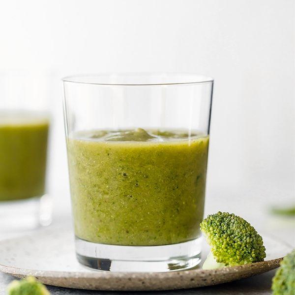 Jus Brokoli Campur Apel Wortel