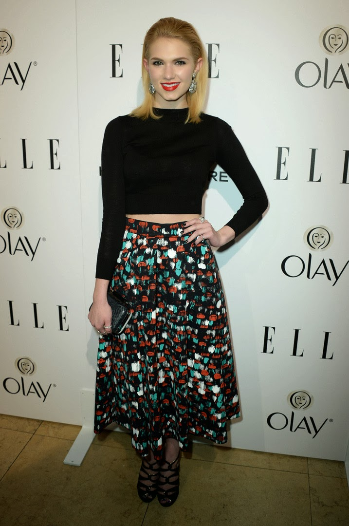 Elle's Women in Television claudia lee