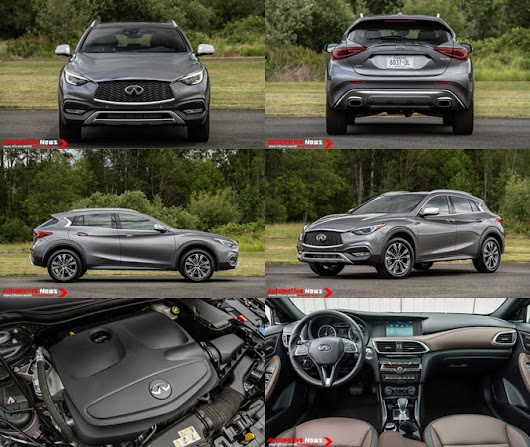 2017 Infiniti QX30 - Review