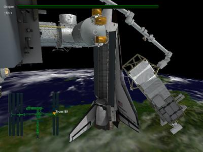 Гра-симулятор Station Spacewalk
