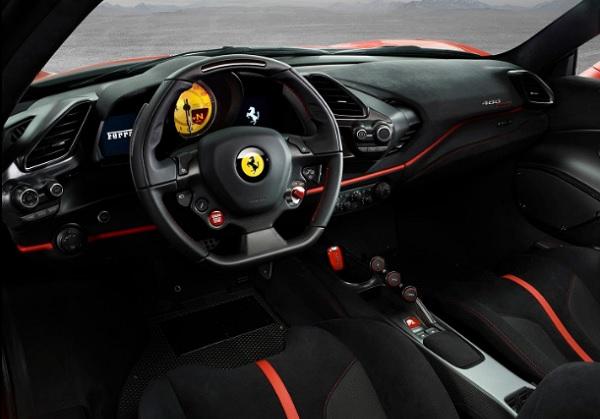 Ferrari 488 Pista (2019) Interior