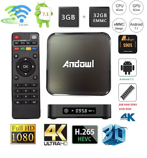 andowl box tv 3gb 32gb