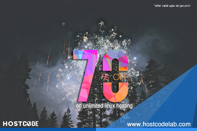 Hostcode Lab offer, web hosting offer, hosting site