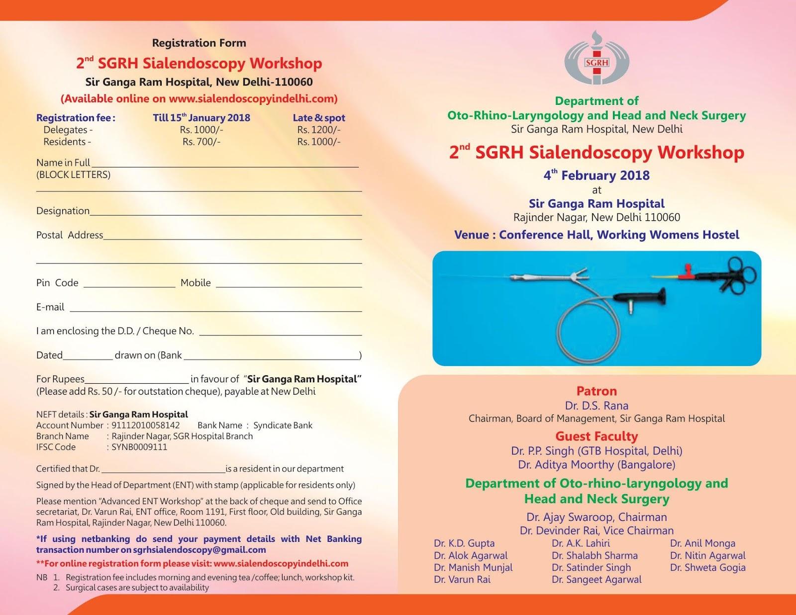 Otolaryngology Update: 2nd SGRM Sialendoscopy Workshop, 4