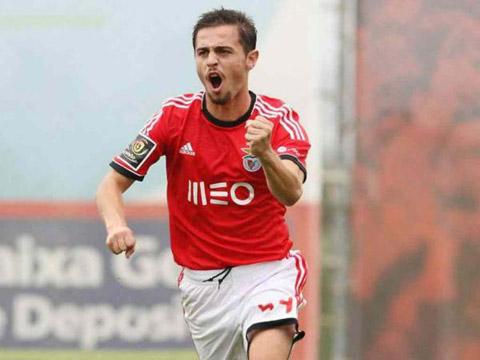 Bernardo Silva thời còn thi đấu cho Benfica