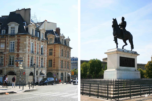 My Travel Background : #ParisPromenade : l'île de la Cité, statue équestre d'Henri IV