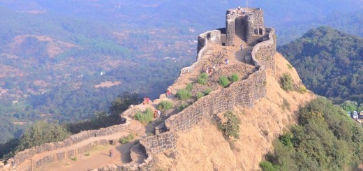 Pratapgad Fort is a mountain fort built by Chatrapati Shivaji Maharaj. The fort is at a distance of 24 km from the hill station of Mahabaleshwar. The fort holds a sturdy view of coastal Konkan. The Bhavani Temple and Afzal Khan's tomb are other places of interest.  Pratapgad consists of two forts – an upper fort built on the top of the hill and a lower fort immediately below on the south and the east. Surrounding areas can be easily taken guard from the fort on almost all the sides. The southern side is rocky while the eastern side has a strong outwork ending in the Afzal Buruj.  The famous minister More Tirmal Pingale on the command of Shivaji Maharaj to control the rebellious satraps of the surrounding Javali Basin built Pratapgad Fort in 1656. It is believed that Chatrapati Shivaji Maharaja was blessed with a shining sword at the temple of Goddess Bhavani here.  The historic battle between Chatrapati Shivaji and Afzal Khan, the commander of the Bijapur Sultanate fought here. Bhavani Temple and Afzal Khan's Tomb are major attractions where are situated near the fort.