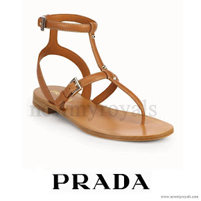 Crown Princess Mary wore PRADA Sandals