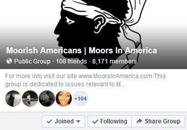 Moors in America Moorish Americans fb group