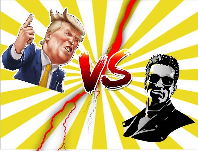 Presidente vs 'Terminator': Una batalla inédita
