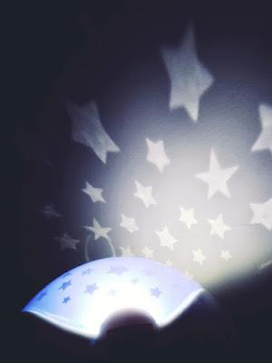 lámpara de estrellas