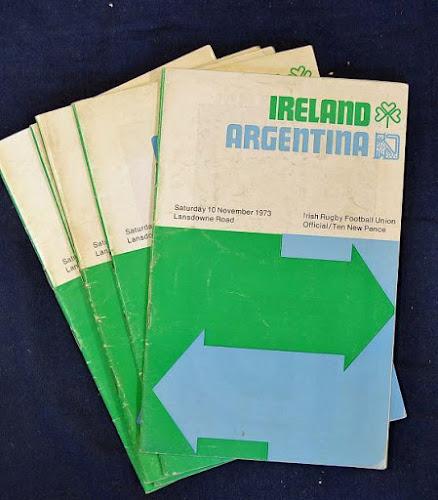 Historial entre Los Pumas e Irlanda