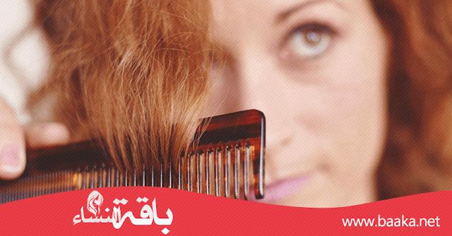كيفية علاج الشعر المتقصف والتالف