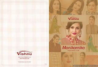 Vishnu Manikarnika Cotton punjabi dress Material
