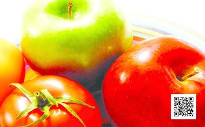 القيام بتناول الطماطم والتفاح قد يصلح الاضرار التى يسببها التدخين