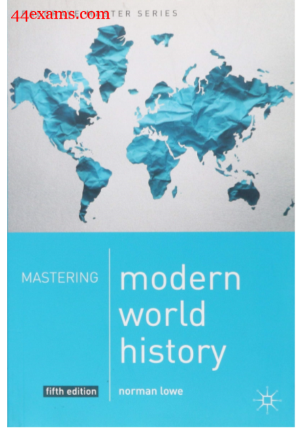 Modern World History by Norman Lowe : For UPSC Exam PDF Book
