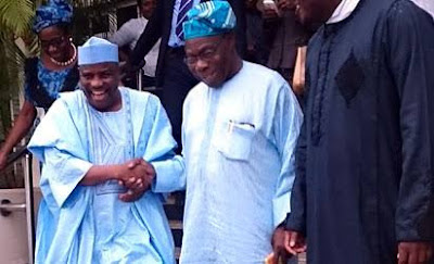 PDP Primary: Tambuwal in Closed-door Meeting with Obasanjo