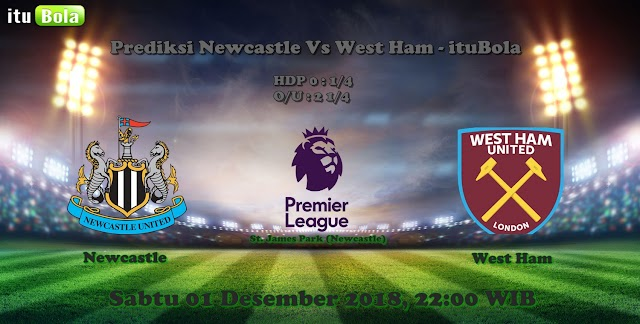 Prediksi Newcastle Vs West Ham - ituBola